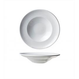 Location d'Assiette Creuse blanche - Porcelaine 24 cm