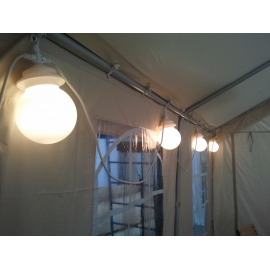 Lumières - Eclairages pour Chapiteau