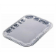 Plat de Service Rectangle en Inox