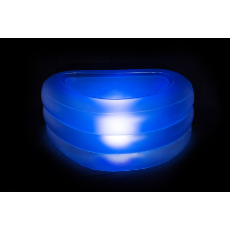 Table Basse Gonflable Lumineuse
