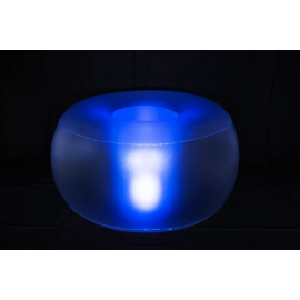 Location Pouf Gonflable Lumineux