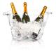 Location de Seau à Champagne Transparent