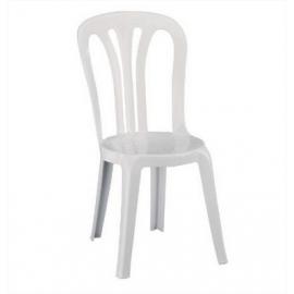Chaise Blanche en plastique pour Réception