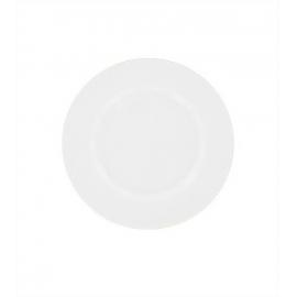 Assiette plate blanche - Porcelaine 22 cm