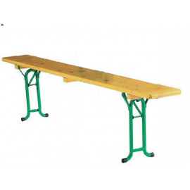 Location de Table Rectangle en Bois - Kermesse