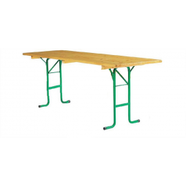 Table Rectangle en Bois - Kermesse