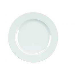 Location de Petite Assiette plate blanche - Porcelaine 17 cm