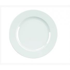 Location d'Assiette plate blanche - Porcelaine 24 cm