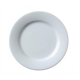 Assiette plate blanche - Julia 26 cm