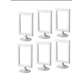 Cadre Photo Blanc sur Pied