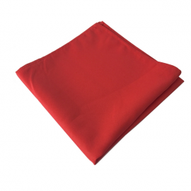 Location de Serviette Rouge Carrée - 50 * 50