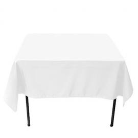 Location de Nappe Blanche - Table Carré