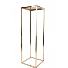 Location Colonne 80 cm - Rose Gold