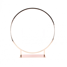 Location Centre de Table Cercle 80 cm - Rose Gold