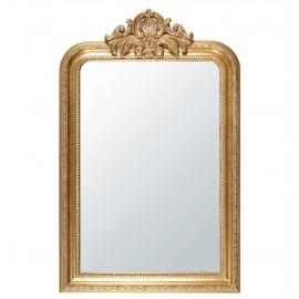 Miroir à Moulures Dorées