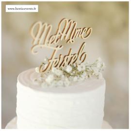 Cake Topper M et Mme