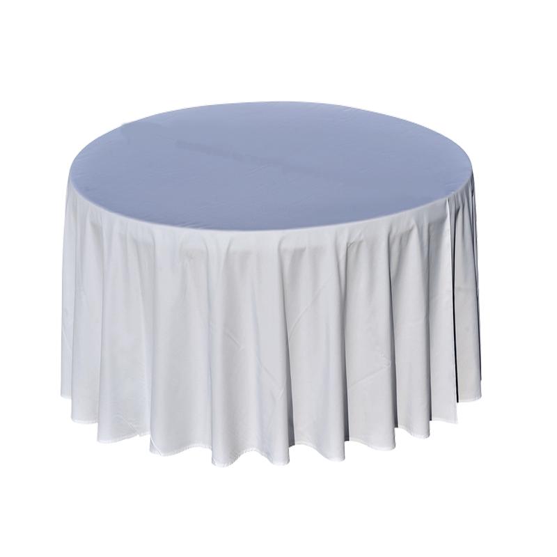 Nappe Blanche - Table Ronde - Diam 290 cm - Location pour ...