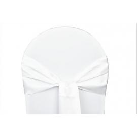 Vente de Nœuds de Chaise - Satin Blanc