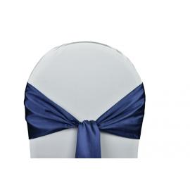 Vente de Nœuds de Chaise - Satin Bleu Marine