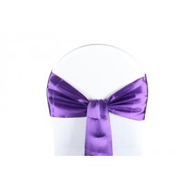 Vente de Nœuds de Chaise - Satin Violet