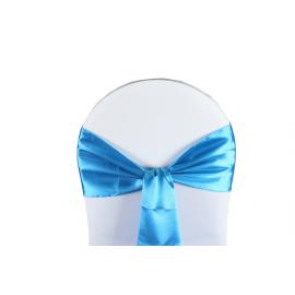 Vente de Nœuds de Chaise - Satin Turquoise