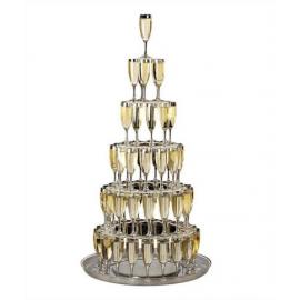 Cascade pour Flutes à Champagne