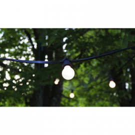 Location de Guirlandes Guinguettes - Ampoules Led - 10 m