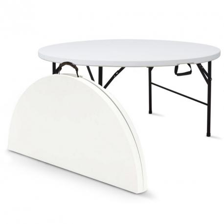 Location de Table ronde de 150 cm - 8 places