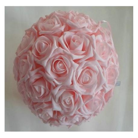 Location de Boule de Roses Roses - Diam 30 cm