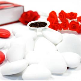 Dragées au Chocolat - Forme Coeur - 1 Kilo