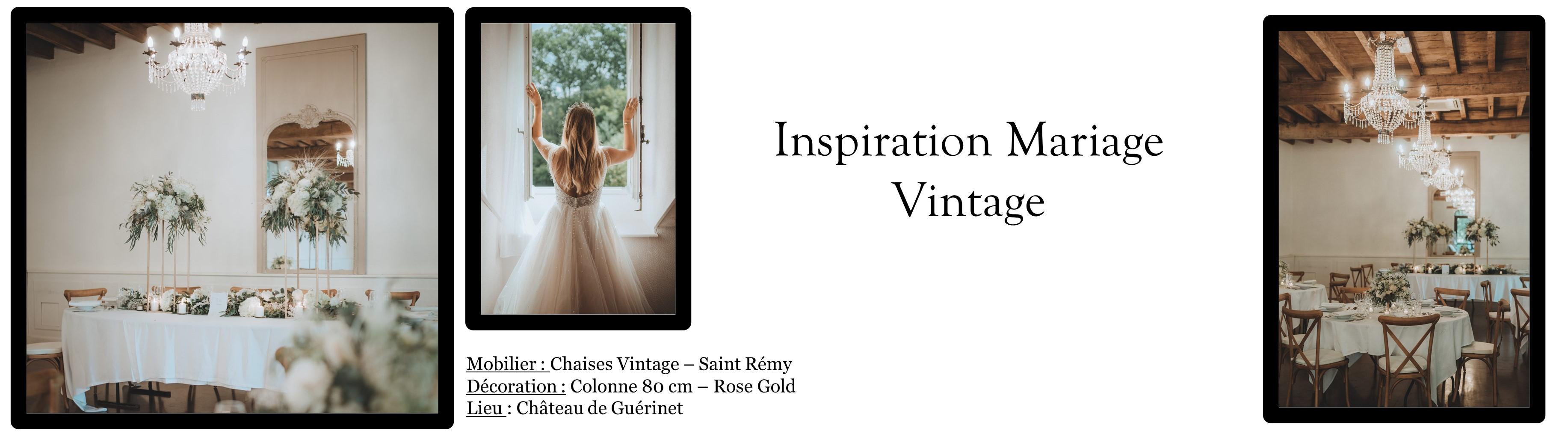 """Découvrez notre Page Inspiration : """"Thème Vintage"""""""